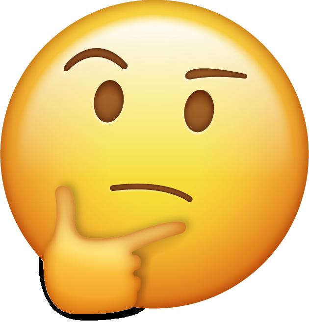 Download Thinking Emoji [Free Download IOS Emojis] Icon ...